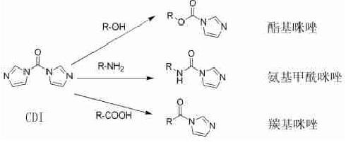 具有反应活性的中间体的合成