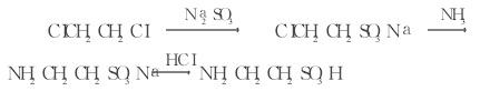 二氯乙烷法的反应式