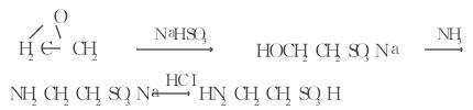 环氧乙烷法的反应式