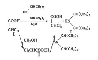 二氯醋酸二异丙胺的合成路线