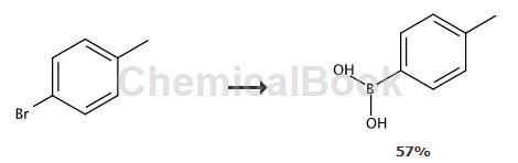 4-甲苯硼酸的制备