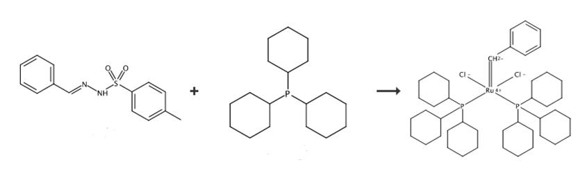 苯基亚甲基双(三环己基磷)二氯化钌的合成路线