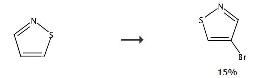 4-溴异噻唑的合成路线
