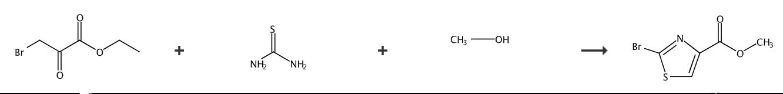 2-溴噻唑-4-羧酸甲酯的合成路线