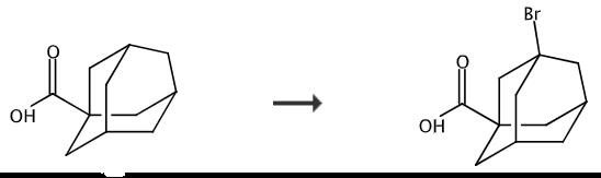 3-溴-1-金刚烷甲酸的合成路线