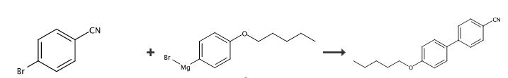 4-戊氧基-4'-氰基联苯的合成路线