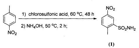 6-硝基-1,2-苯并异噻唑啉-3-酮 1,1-二氧化物的合成路线