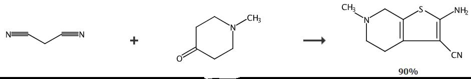 3-环-4,5,6,7-四氧-6-甲基三丁酚的合成路线