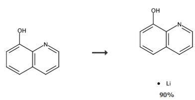 8-羟基喹啉-锂的合成路线