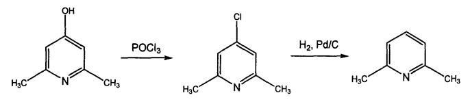 2,6-二甲基吡啶的合成路线