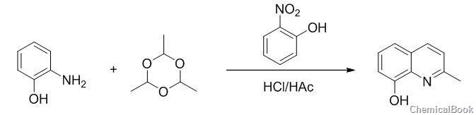 8-羟基喹哪啶-制备图