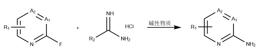 2-氨基-4-三氟甲基吡啶的合成路线