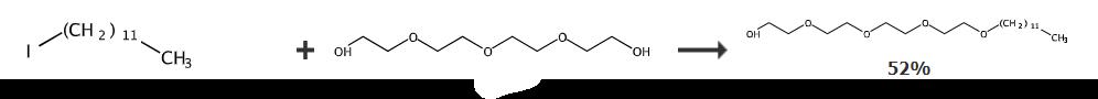 四聚乙二醇单月桂醚的合成路线