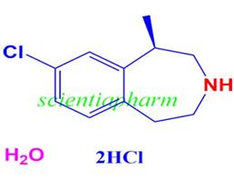 半水氯卡色林盐酸盐,(1R)-8-Chloro-2,3,4,5-tetrahydro-1-methyl-1H-3-benzazepine hydrochloride hemihydrate