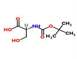 BOC-D-丝氨酸