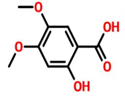 2-羟基-4,5二甲氧基苯甲酸