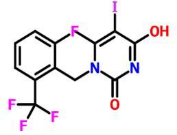 1-(2-氟-6-(三氟甲基)苄基)-5-碘-6-甲基嘧啶-2,4(1H,3H) - 二酮