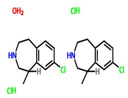 右旋氯卡色林盐酸盐半水合物