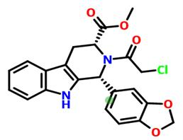 (1R,3R)-1-(1,3-苯并二氧戊环-5-基)-2-(氯乙酰基)-2,3,4,9-四氢-1H-吡啶并[3,4-B]吲哚-3-羧酸甲酯