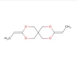 2,4,8,10-Tetraoxaspiro[5.5]undecane, 3,9-diethylidene-